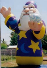 Wizard advertising balloon - advertising inflatables made in USA.